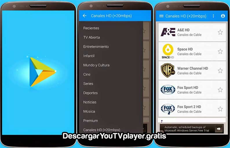 como descargar you tv player